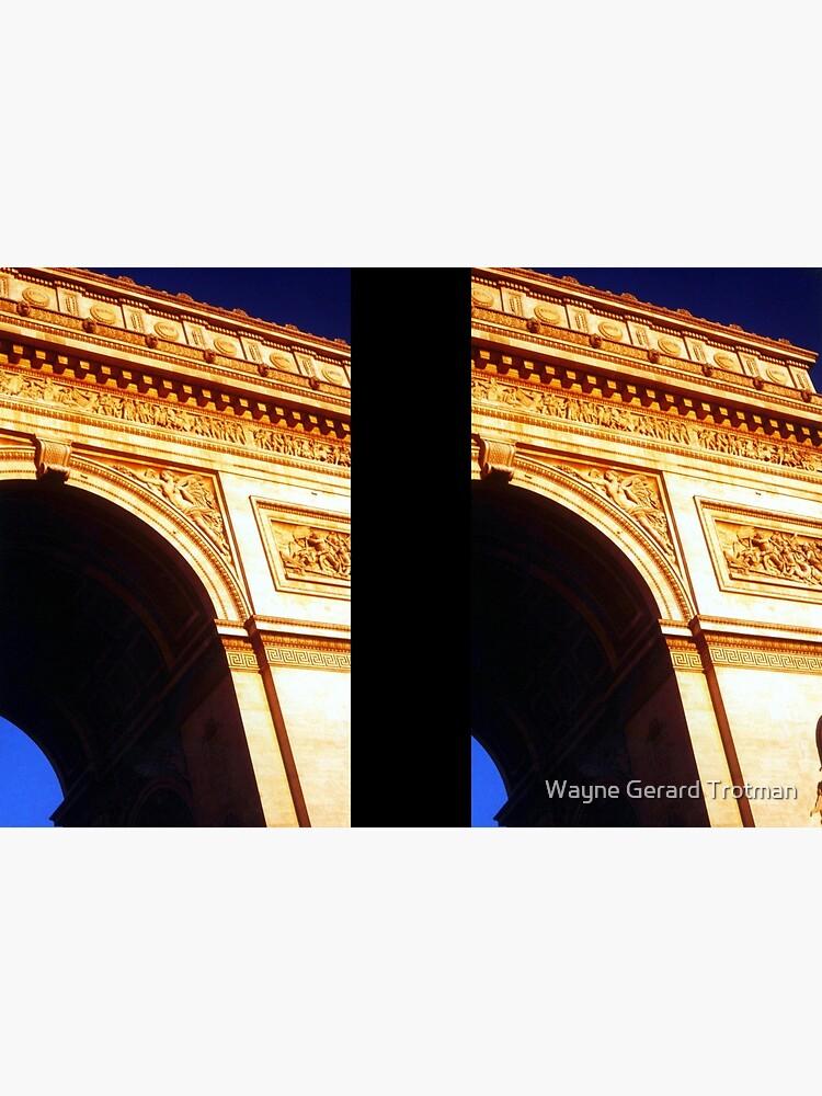 Arc de Triomphe by redmoondragon