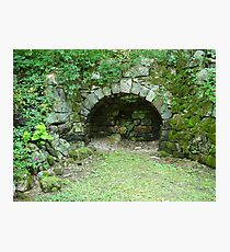 Moss-covered Structure - Built by Native Americans Photographic Print