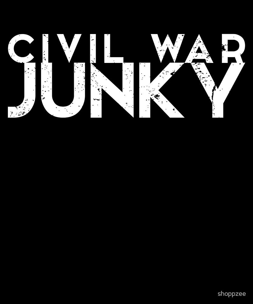 Civil War Memorabilia Shirt Civil War Junky by shoppzee