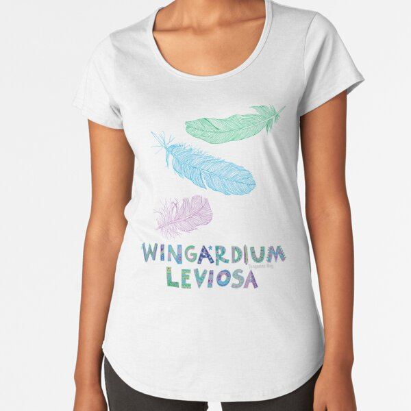 Wingardium Leviosa Premium Scoop T-Shirt