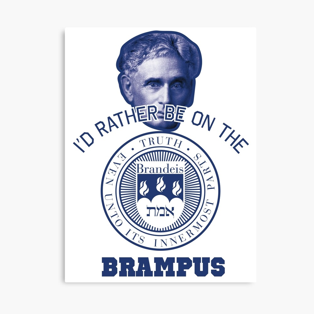 Id Rather Be On The Brampus Brandeis Campus Canvas Print By