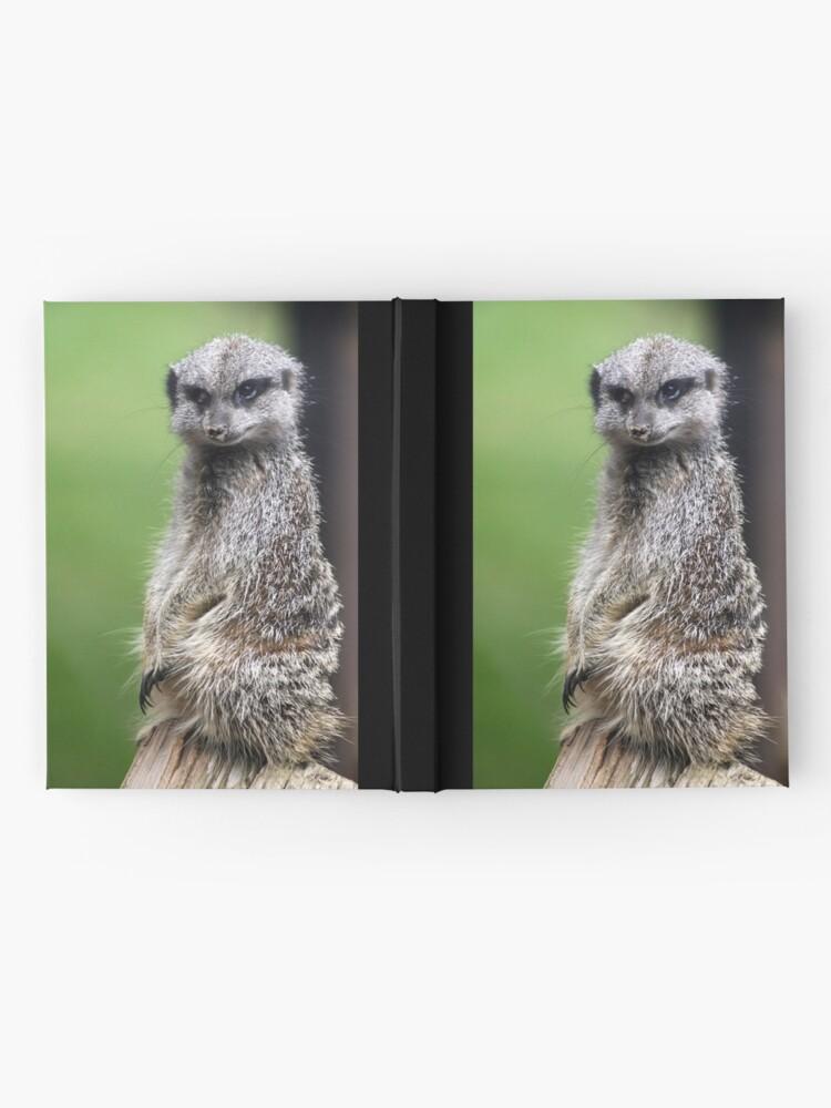 Alternate view of The Wily Meerkat Hardcover Journal
