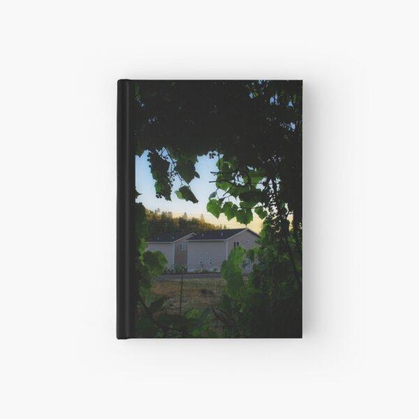 Grape Evening Hardcover Journal