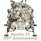 Apollo 11 Lunar Excursion Module 50th Anniversary  by Jim Plaxco
