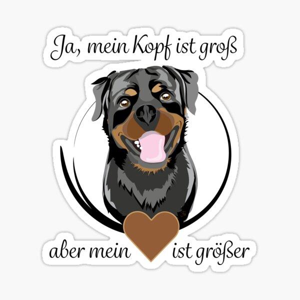 Rottweiler - be Happy Sticker