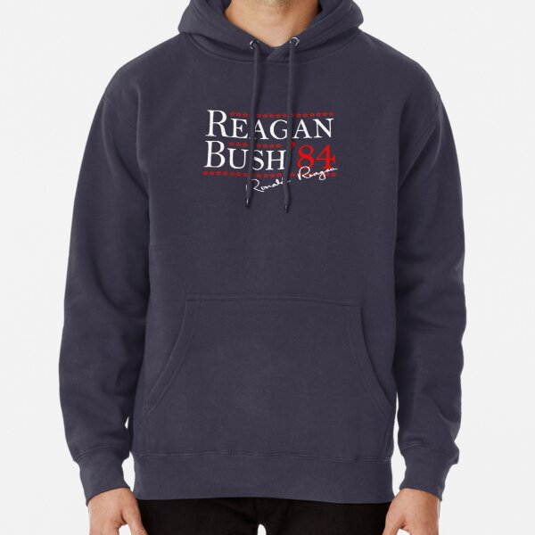 Ronald Reagan Shirt - Reagan Bush 84 T Shirts Pullover Hoodie