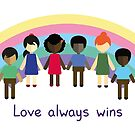 Love always wins by julianamotzko