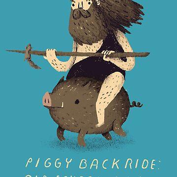 piggy back ride by louros