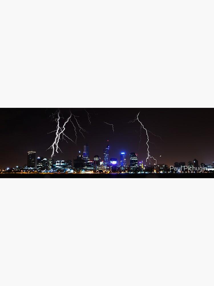 Perth Lightning by paulmp