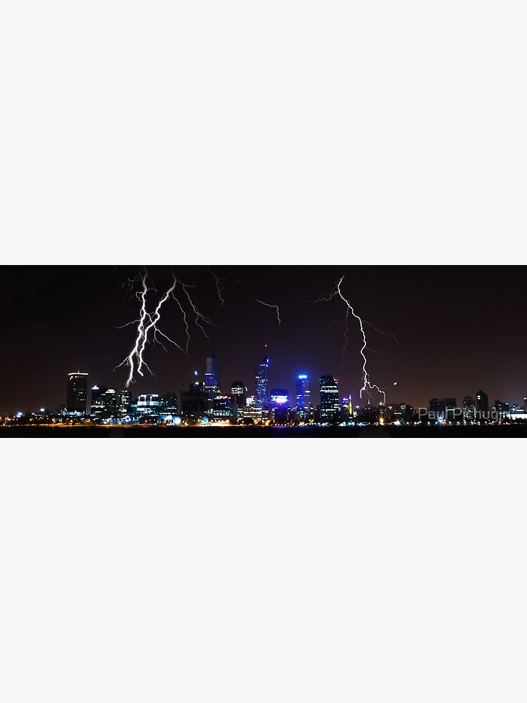 Perth Lightning by paulmp