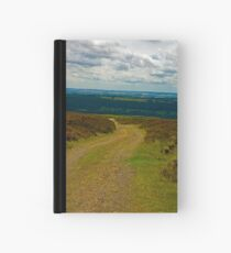 Moorland Track Hardcover Journal