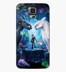 """Funda/vinilo para Samsung Galaxy Cómo entrenar a tu dragón 3 """"El mundo oculto"""""""