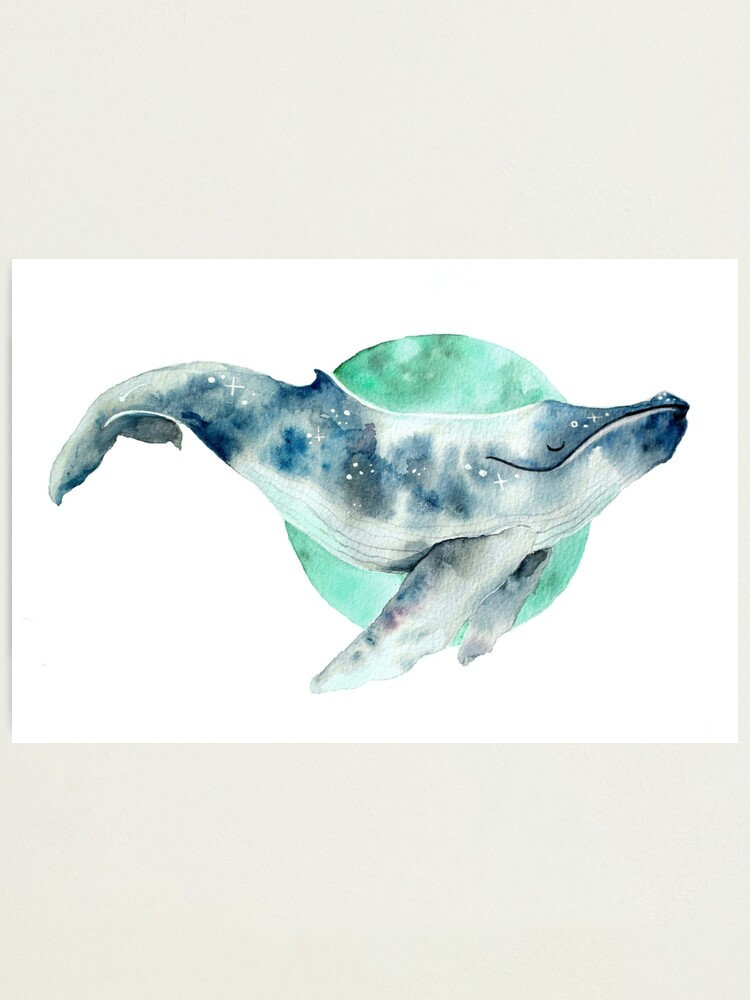 Alternate view of Cosmo Whale Photographic Print