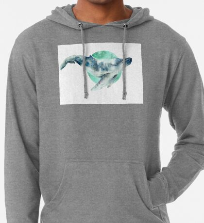 Cosmo Whale Lightweight Hoodie