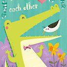 we need each other by Angela Sbandelli