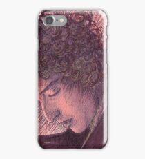 BOB DYLAN PORTRAIT IN INK iPhone Case/Skin