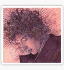 BOB DYLAN PORTRAIT IN INK Sticker