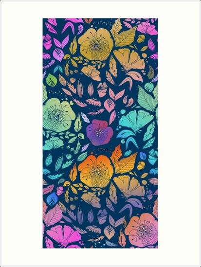 California Blossoms by Anny Cecilia  Walter