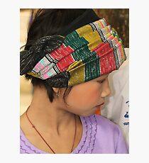 Shan girl Photographic Print