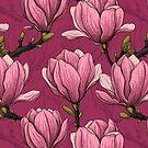 Magnolia garden by Katerina Kirilova