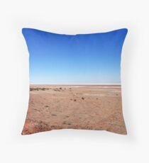 Lake Eyre Throw Pillow