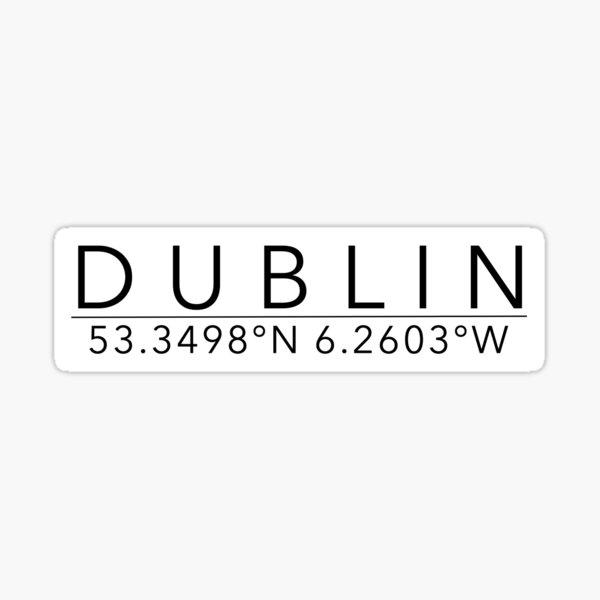 dublin Sticker
