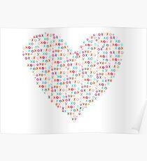xoxo heart Poster