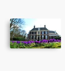 It is spring at Groeneveld! Canvas Print