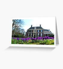 It is spring at Groeneveld! Greeting Card