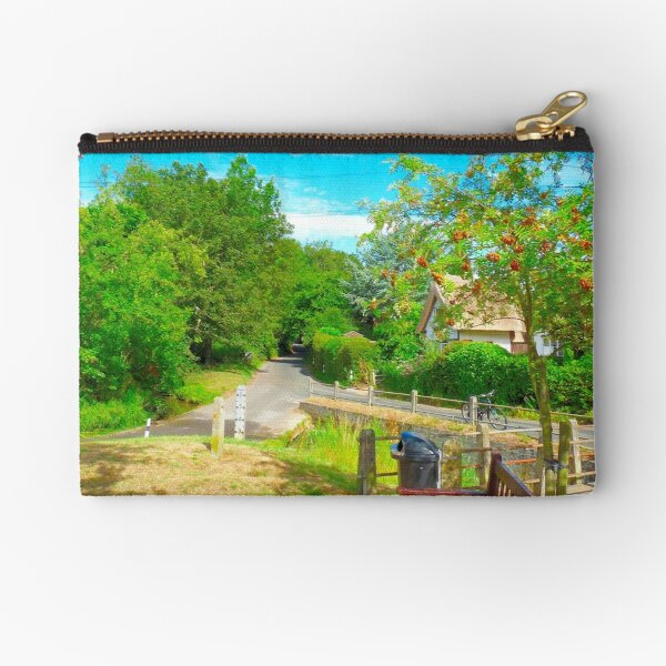 Ford at Clavering, Essex Zipper Pouch