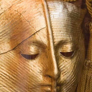 Maske Gold von Wolf-Tek