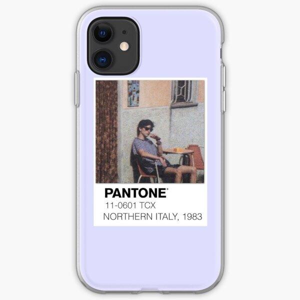 Pantone llamame por tu nombre Polaroid Funda blanda para iPhone