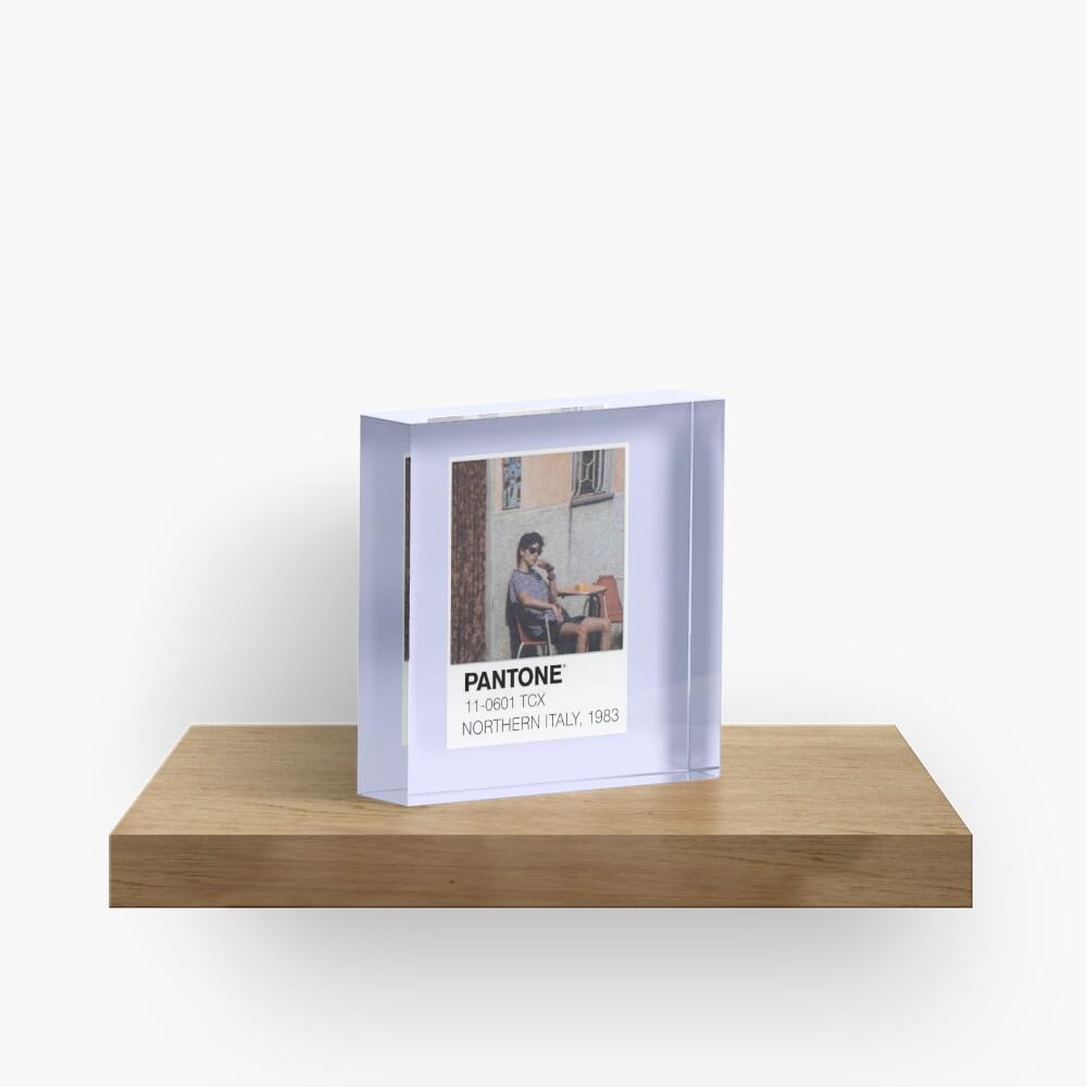 Pantone Call Me By Your Name Polaroid Acrylic Block