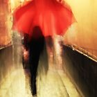 The Red Umbrella ... by Angelika  Vogel