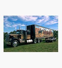 """""""Smokey und der Bandit"""" Kenworth W900A Semi Truck Replica Fotodruck"""