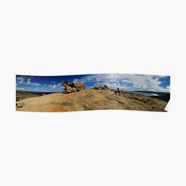 Remarkable Rocks, Kangaroo Island. Poster