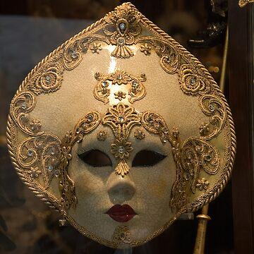 Maske Venedig von Wolf-Tek