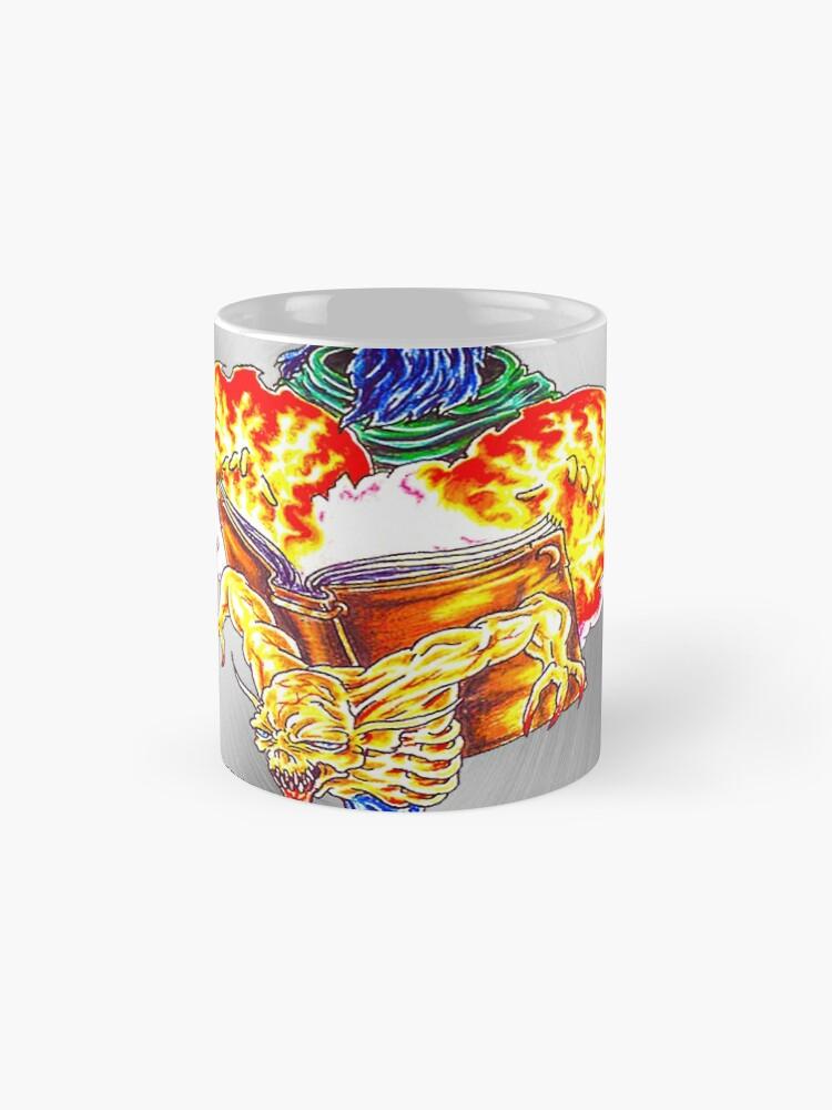 Alternative Ansicht von fwc 0062 tatoo magischer zauberer Tassen