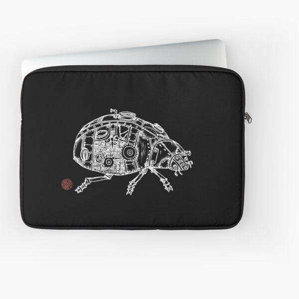 Steampunk Beetle Laptop Sleeve