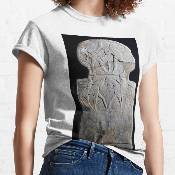#sculpture #ancient #archaeology #art religion statue old monument Classic T-Shirt