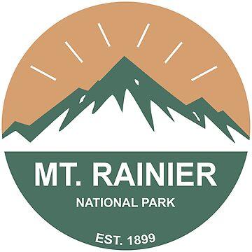 Mt. Rainier National Park by esskay