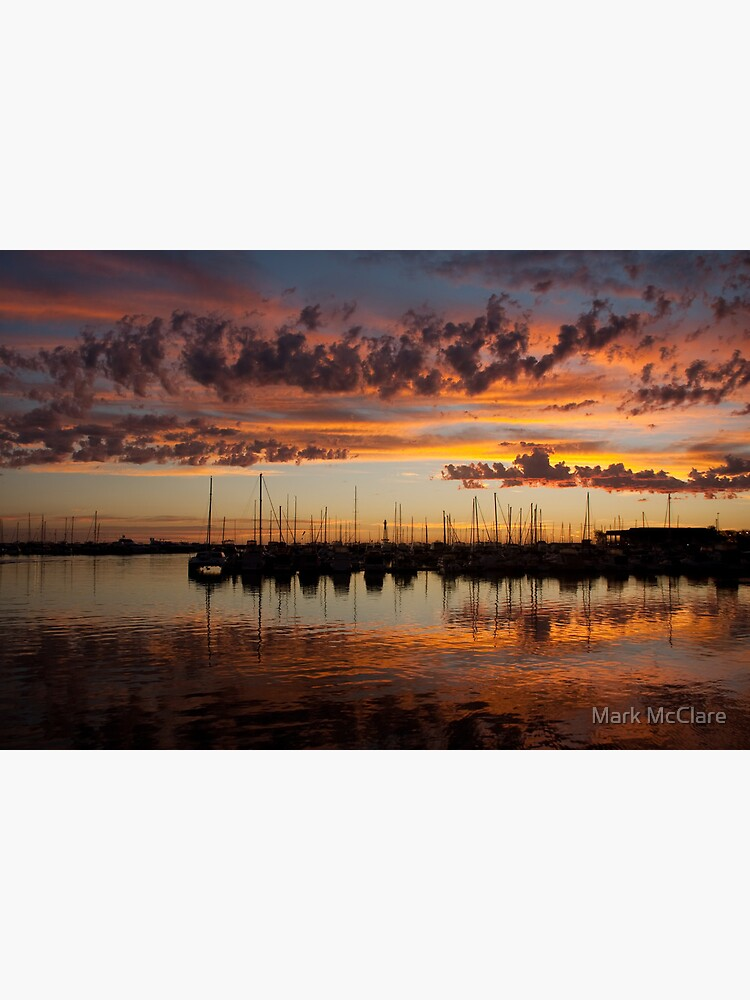 Sunset Harbor by mcclare