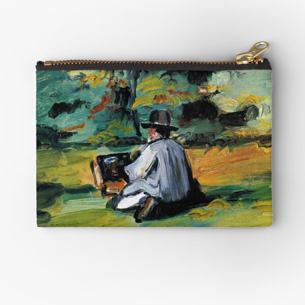 Cezanne - A Painter at Work Zipper Pouch