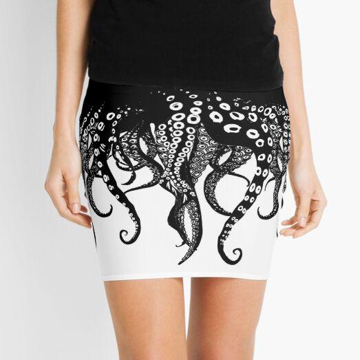 Tentacles Love Mini Skirt