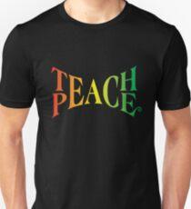 Lehre den Frieden Unisex T-Shirt