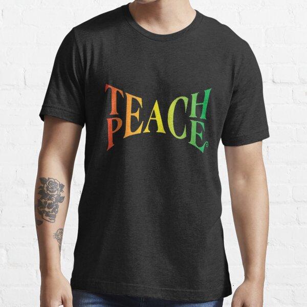 Lehre den Frieden Essential T-Shirt