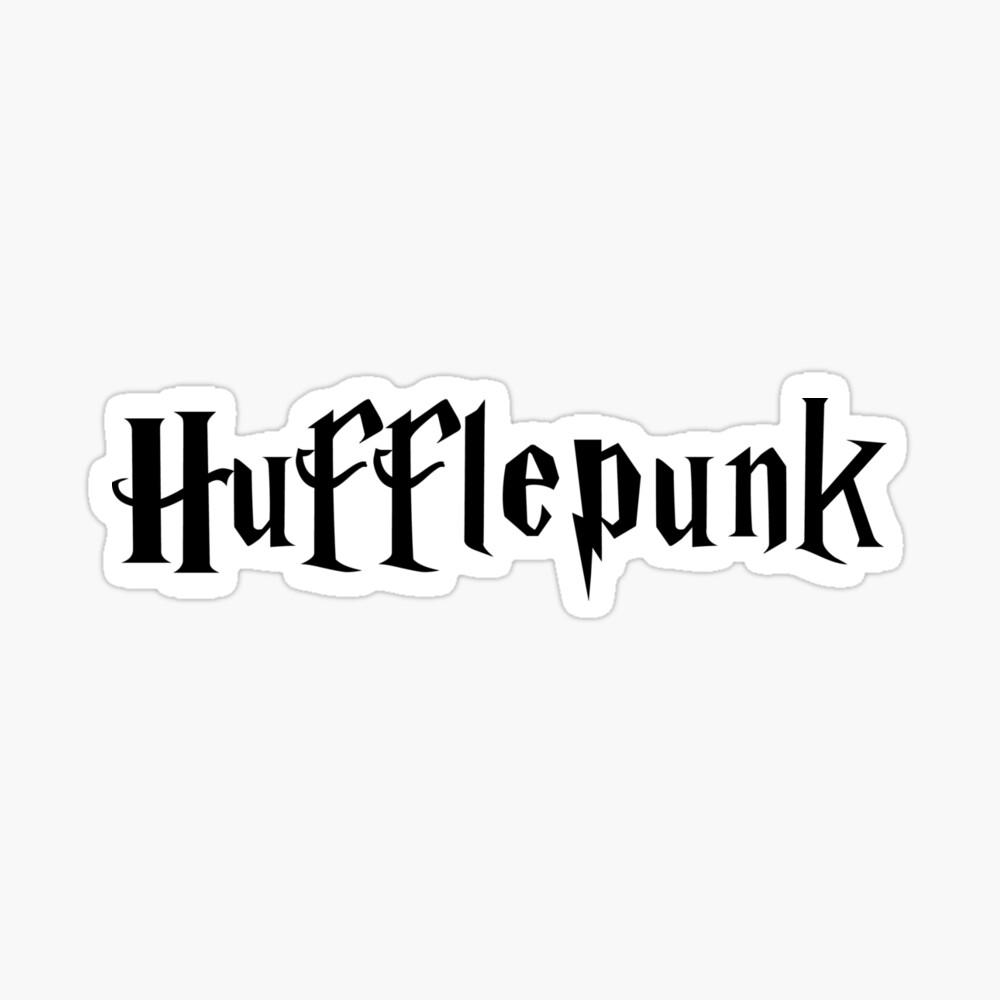 Hufflepunk Sticker