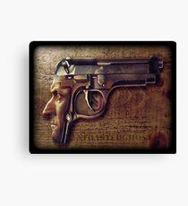 Gunman Canvas Print