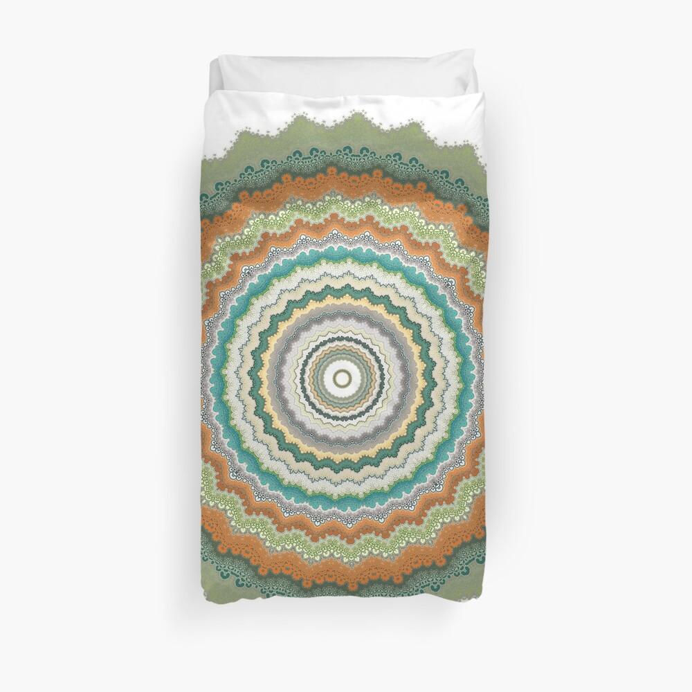 Growth Mandala Duvet Cover