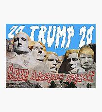 Trump 2020 Photographic Print